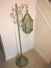 Large Lantern and Holder