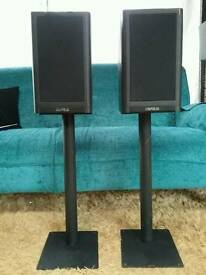 Mission 780 speakers and stands