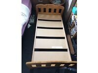 Free to collector toddler bed