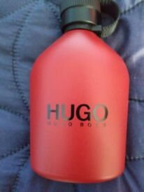 BRAND NEW HUGO BOSS AFTERSHAVE, 200ML, VERY REFRESHING AND LONG LASTING SMELL