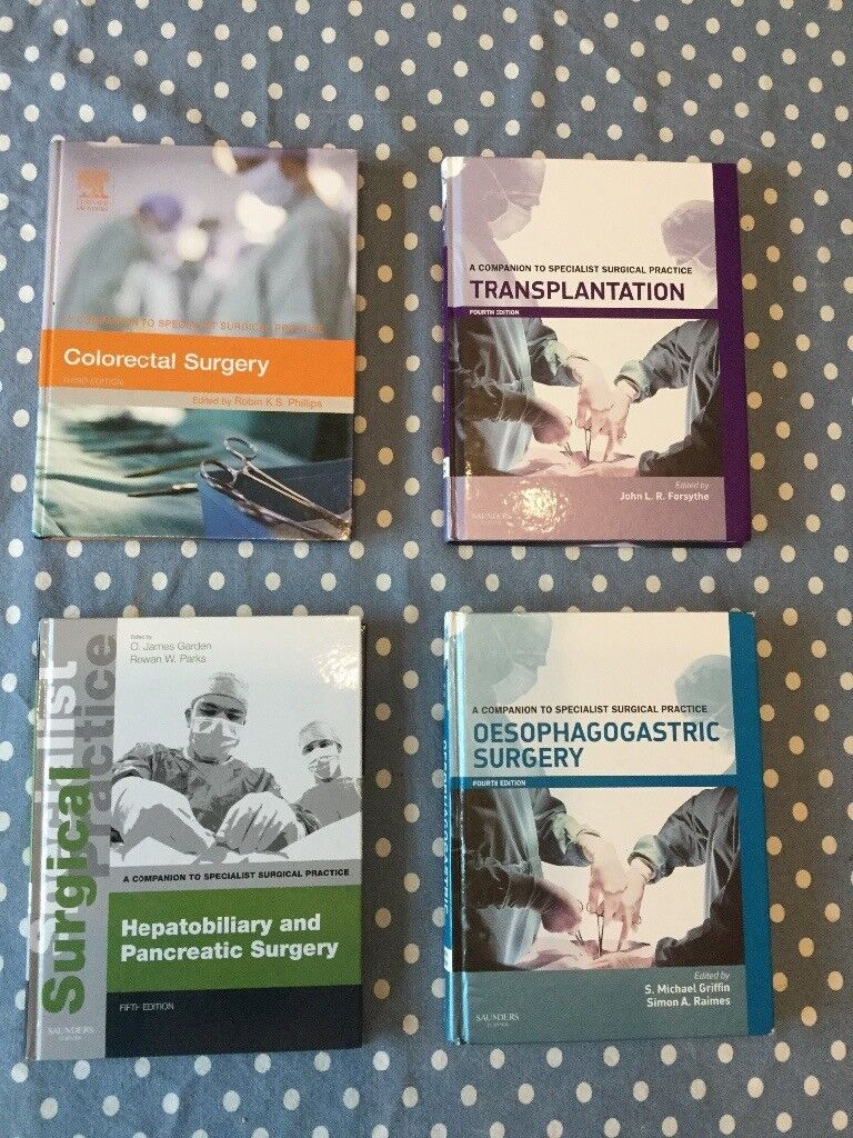 Medical / surgical textbooks