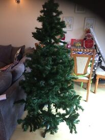5ft (aprx) Christmas Tree - Green (faux, not real)