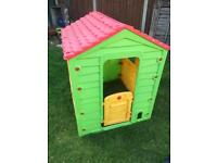 Children's garden play house