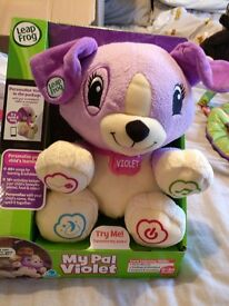 My Pal Violet Leapfrog Toy Brand New
