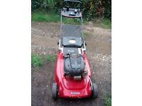 Mountfield M5 Petrol lawnmower with rear roller