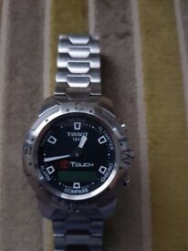 Tissot mens touch watch sports