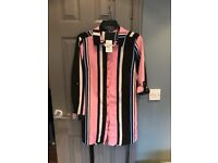 Quiz long striped blouse. Size 16. Cost £25