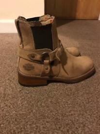 Harley Davidson boots size 4(37)