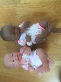 La newborn baby girl dolls