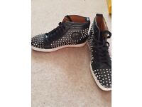 Mens Louboutin trainers size 9, 2 pairs sold seperate or as a pair.