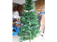 Kentmere pine 7 ft Christmas tree - as new