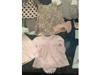 Baby girls 3-6 month bundle of clothing with Designer brands