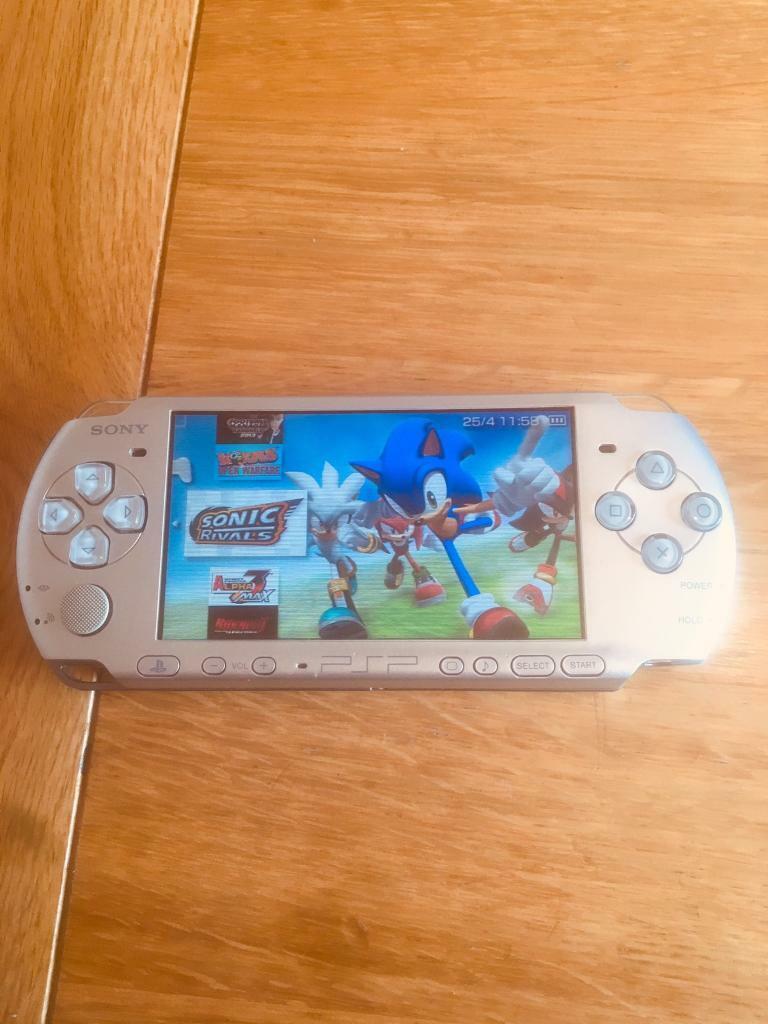 64GB SILVER PSP SLIM 15,000 GAMES | in Ramsbottom, Manchester | Gumtree