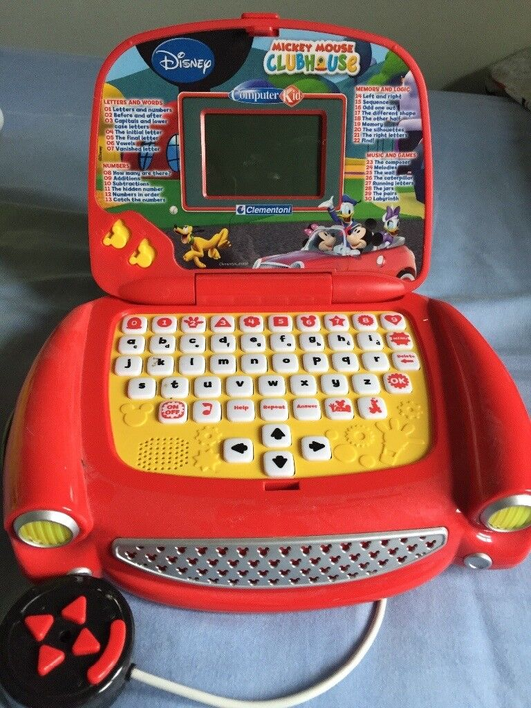 Mickey Mouse Clubhouse Learning Laptop
