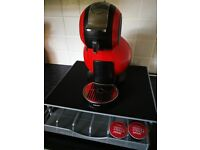 Dolce Gusto pod coffee machine and pod holder