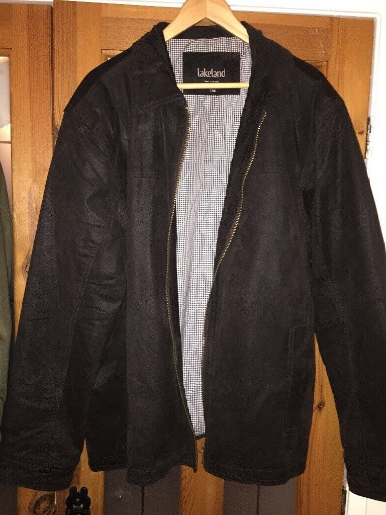 Lakeland leather jacket excellent condition size 44