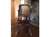 Antique child's chair and table