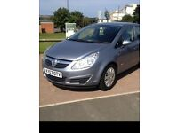 2007 VAUXHALL CORSA 1.4 CLUB 5 DOOR, METALIC SILVER, LOVELY GENUINE FAMILY CAR IN EXCELLENT CONDI