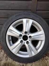 BMW 1 series alloy wheels & winter tyres