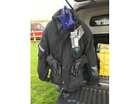 Frank Thomas motorcycle jacket complete with protection panels.