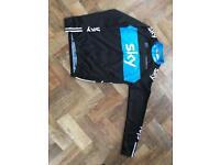 Sky long sleeve cycling jersey