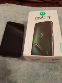 Motorola Moto G4 PLAY - Black - Vodafone - Boxed