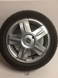 Renault Clio Dynamique 15'inch Alloy Wheel 05 plate