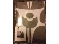 Orla Kiely brand new double duvet/quilt cover set with Two pillowcases