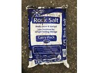 Free Rock salt - melts snow and ice