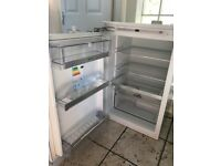 Integrated Neff Fridge White