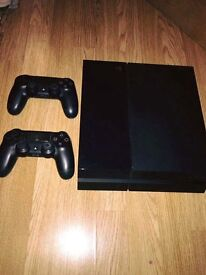 ps4 with spare pad