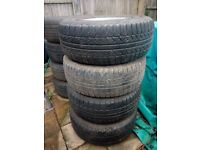 Tyre's (Part Worn) 255-65R-16