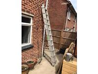 Aluminium Double Ladder
