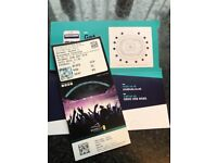 Two tickets to the Anthony Joshua fight 22/9/18