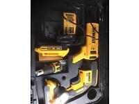 Dewalt dcf620d2k dry wall screw gun plus dcf6201 adaptor
