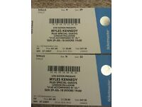 2 Cheap Myles Kennedy Stalls Tickets London 29th July - Price is for the pair