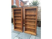 Two pine Bookcase