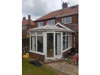 ***FREE*** conservatory 3.7m x 3m doors are 1.8m wide