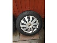 Good as new tyres taken of a Vw transporter