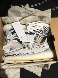 Adidas Yeezy Boost 350 V2 ZEBRA UK 10