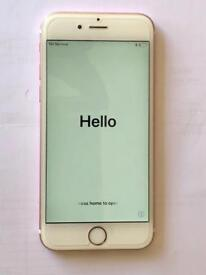 IPHONE 6S Rose Gold Unlocked 128 GB memory