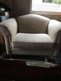 Laura Ashley Snuggle Chair