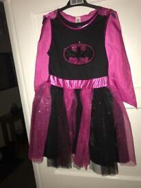 Batgirl dress - size 5-6