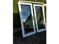 ** REDUCED uPVC Double Glazed French Doors White