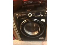 BLACK HOTPOINT WASHER DRYER 9/6KG