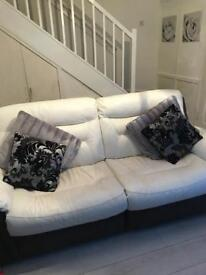 Dfs leather recliners 2x3 seaters