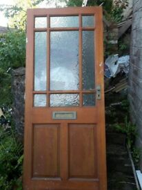 Hardwood Front / External Door