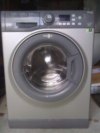 Hotpoint WMFUG742 7kg 1400 Spin Silver LCD A++Rated Washing Machine 1 YEAR GUARANTEE FREE FITTING