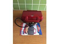 American Originals Waffle Maker, Red (Model: EK2004AR)