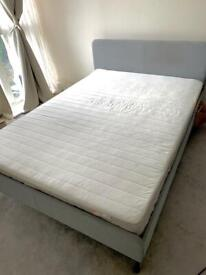 Ikea Bed frame + Mattress (double)